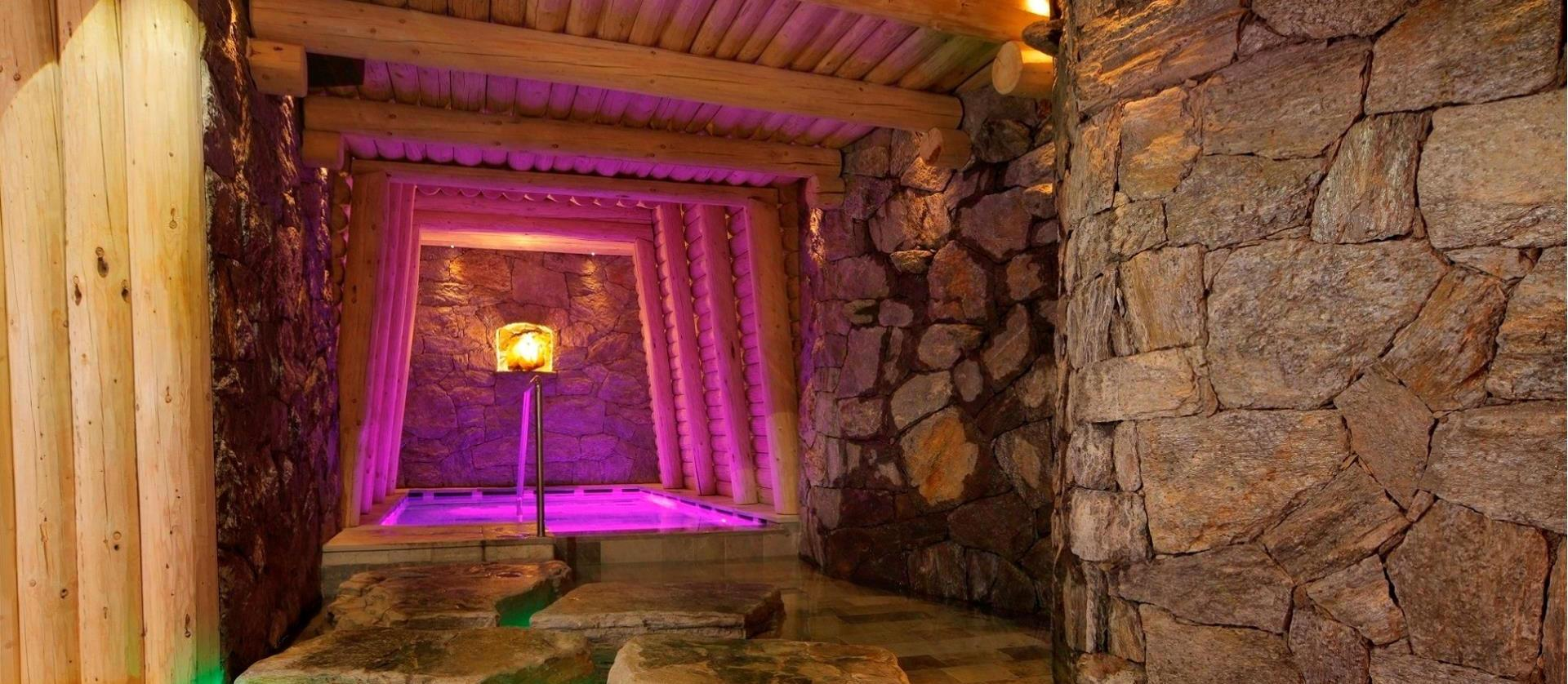 Wellness and Spa<br />in the world of the mine digger